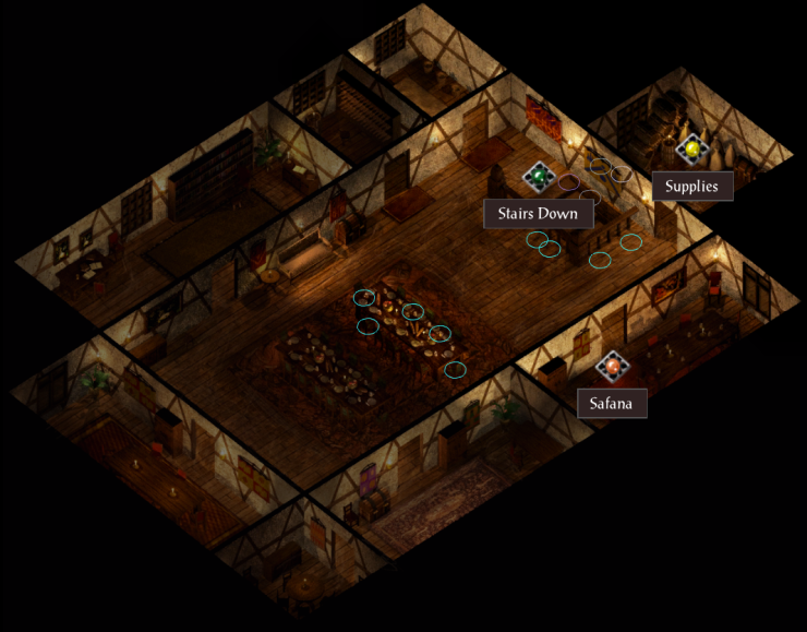 Elfsong Tavern Second Floor