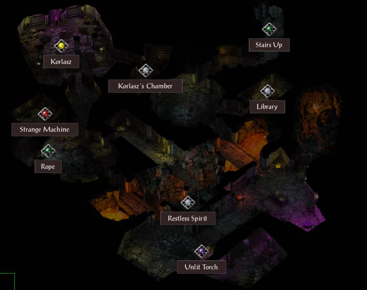 Korlasz Family Crypt, Lower Level