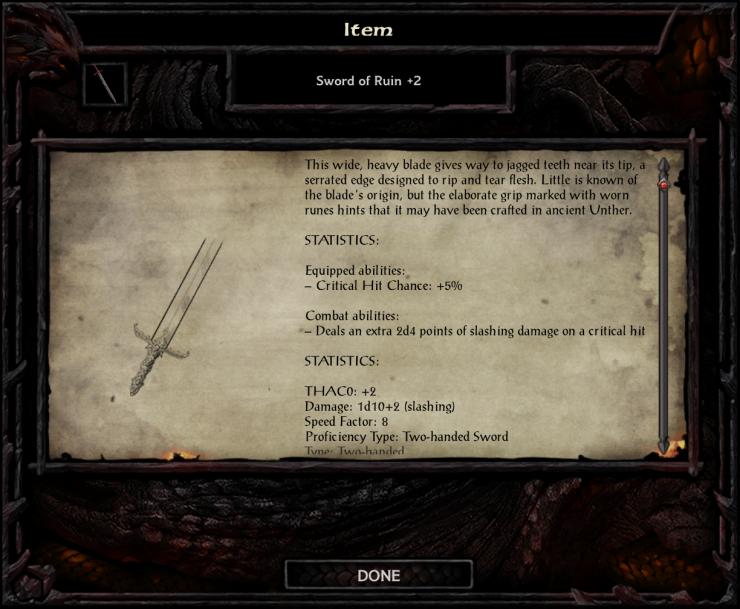 Sword of Ruin +2