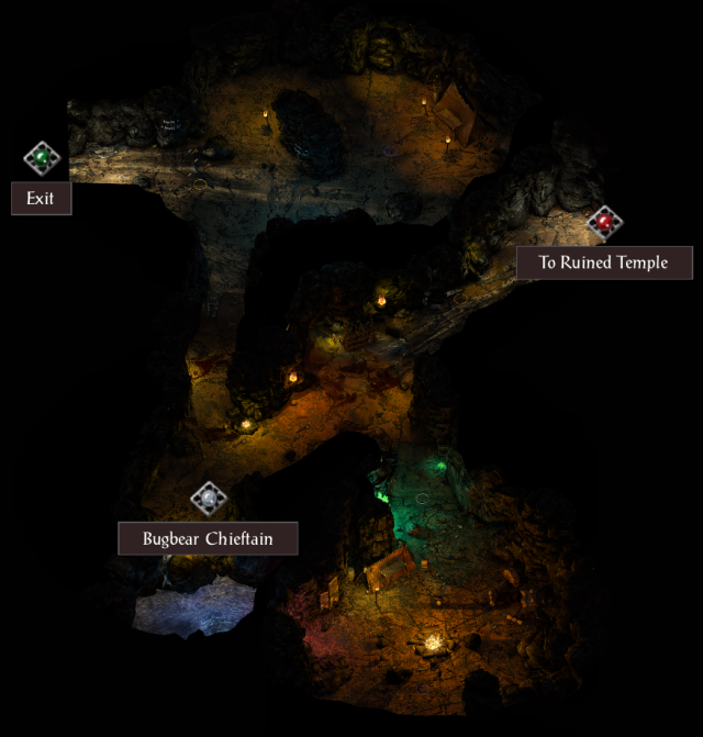 The Bugbear Cavern POI