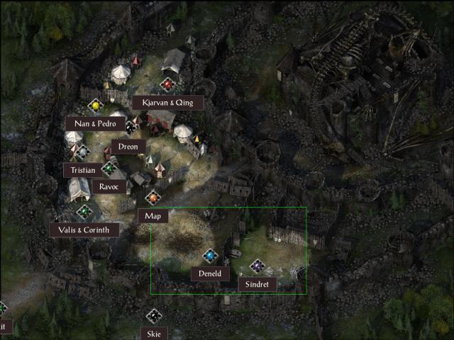 Dragonspear Castle Exerior POI